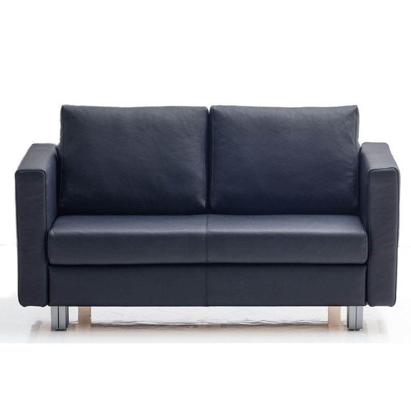 Vip franz fertig sofa in leder gesamtbreite 164cm m bel for Leder schlafsofa mit bettkasten