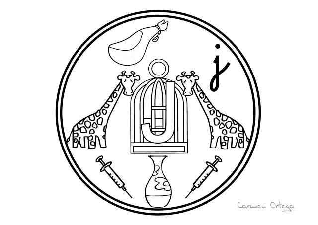 colorea J | trapo para la escuela | Pinterest | Vocabulary, Mandala ...