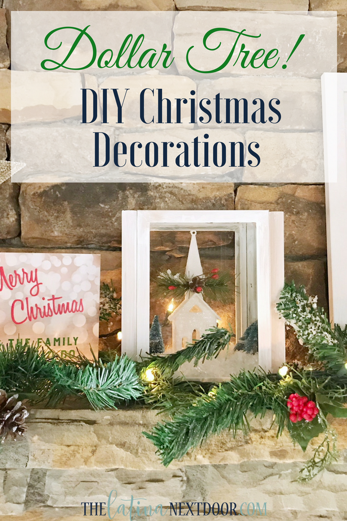 Diy Christmas Decorations Using Dollar Tree Products Crafts