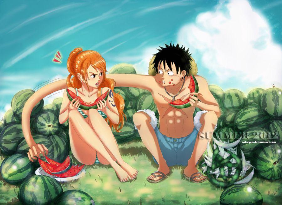 Luffy X Nami, One Piece Luffy, One Piece Ship
