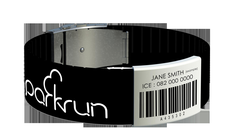 Bold Parkrun Wristband On My Wishlist Wristband