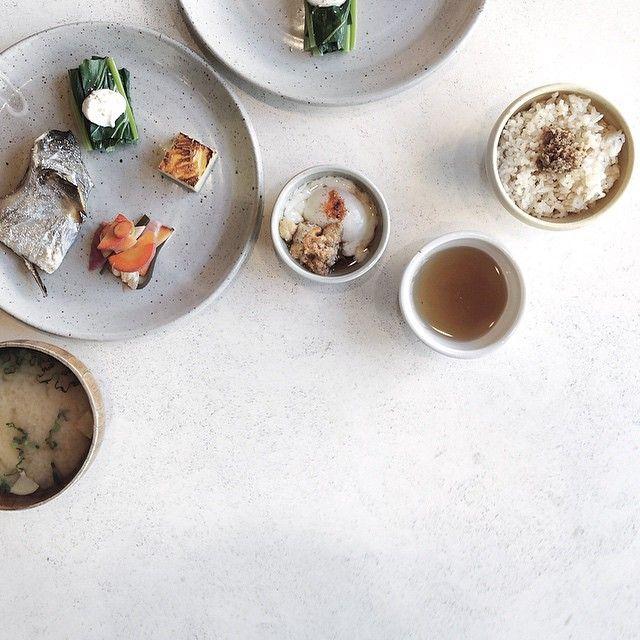 pretty japanese brunch