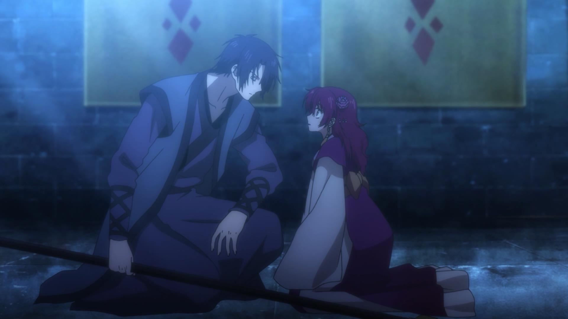 Akatsuki No Yona Anime Boy And Girl Kawaii Cute Hak X Yona Love