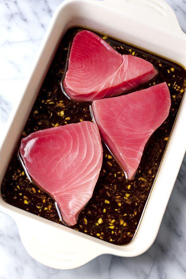 how to cook ahi tuna