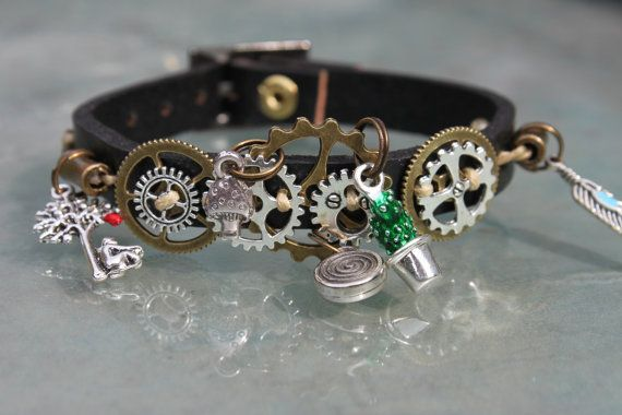 Buy Now steampunk strap by DecidezVosZenvies 10.00 EURhere is a stylish bracelet…