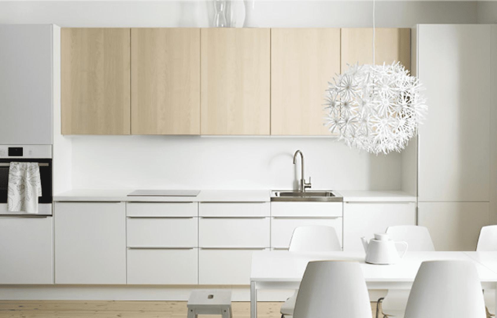 Cocinas para agrandarlas eleige muebles en colores claros - Materiales para muebles de cocina ...