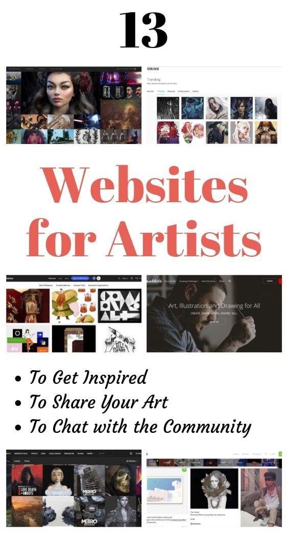Cool Art Websites Names
