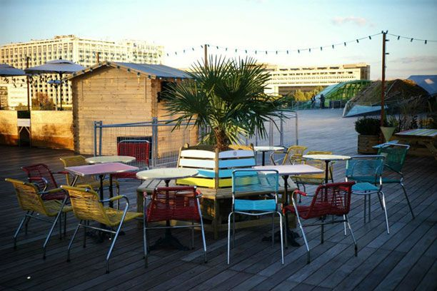 'Le Nüba' is one of the best places in summer | #Paris