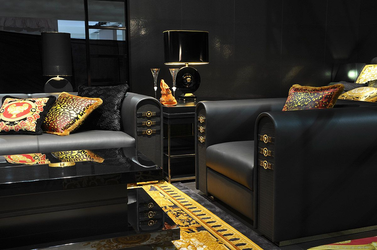 Versace Home Versace Home Gold Home Decor Versace Furniture #versace #living #room #set