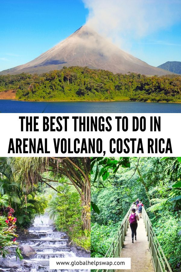 Arenal Volcano National Park is a must if you are visiting Costa Rica in search of adventure. | The best things to do in Arenal Volcano in Costa Rica | La Fortuna waterfall | Thins To Do In Costa Rica | Must VIsit Places In Costa Rica | Costa Rica Travel Guide | How To Explore Arenal Volcano in Costa Rica |  #costarica #arenalvolcano #volcano #travel #arenal #rainforest #wanderlust #adventure #hiking #centralamerica #jungle #vacation #explore #travelblogger #volcanarenal #travelling #landscape