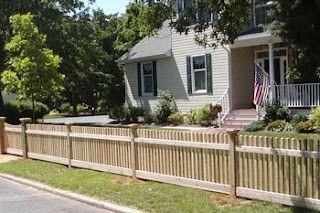 Short Fence Idea Short Fence Backyard Fences Modern Fence