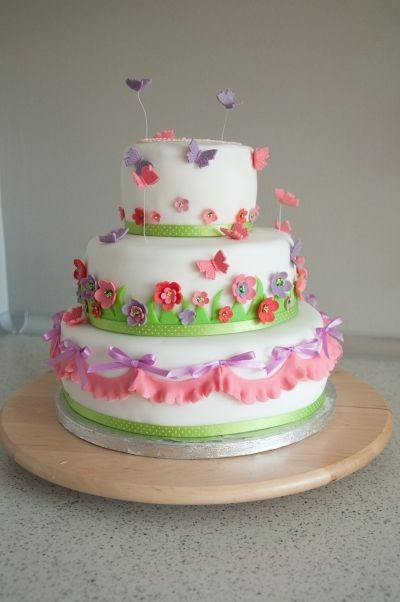 Cool Happy Spring Time Cake Cake Cake Decorating Cute Cakes Funny Birthday Cards Online Alyptdamsfinfo