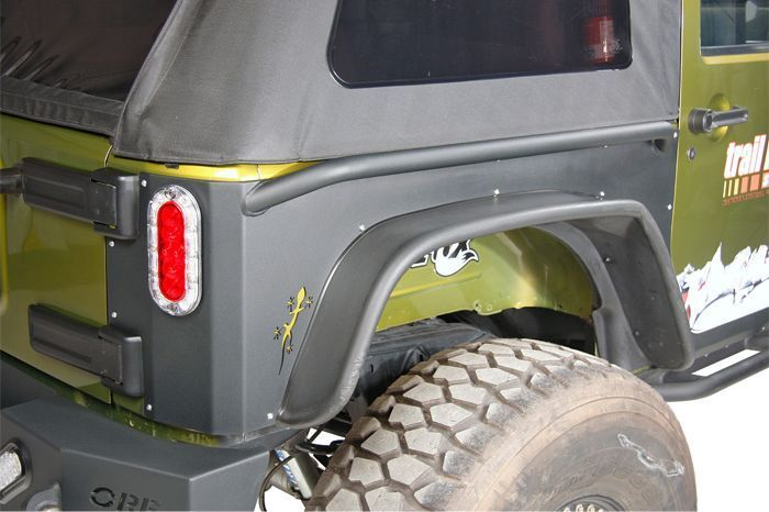 Or Fab S New Gecko Skin Rear Quarter Armor Offers Superior Trail Protection For Jk Model Jeep Wranglers The Armor Is Manufactur Jeep Fenders Jeep Rock Sliders