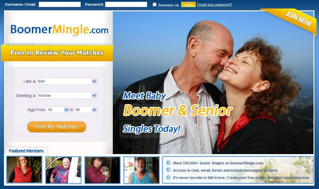 Baby Boomer Dating on SitAlong