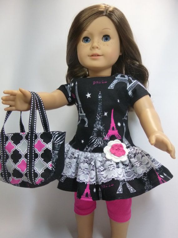 American Girl Doll Paris Inspiration Outfit by CindyrellasCloset ...