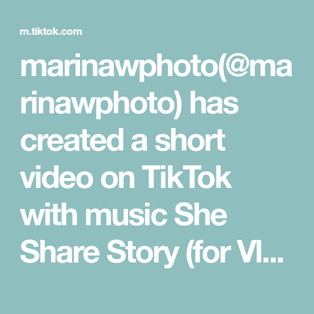 Marinawphoto Marinawphoto Has Created A Short Video On Tiktok With Music She Share Story For Vlog Some S The Originals Double Exposure Presentation Skills