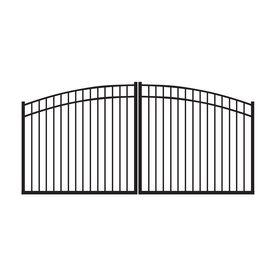 12 Ft Black Driveway Gate Metal Driveway Gates Aluminum Driveway Gates Aluminium Gates