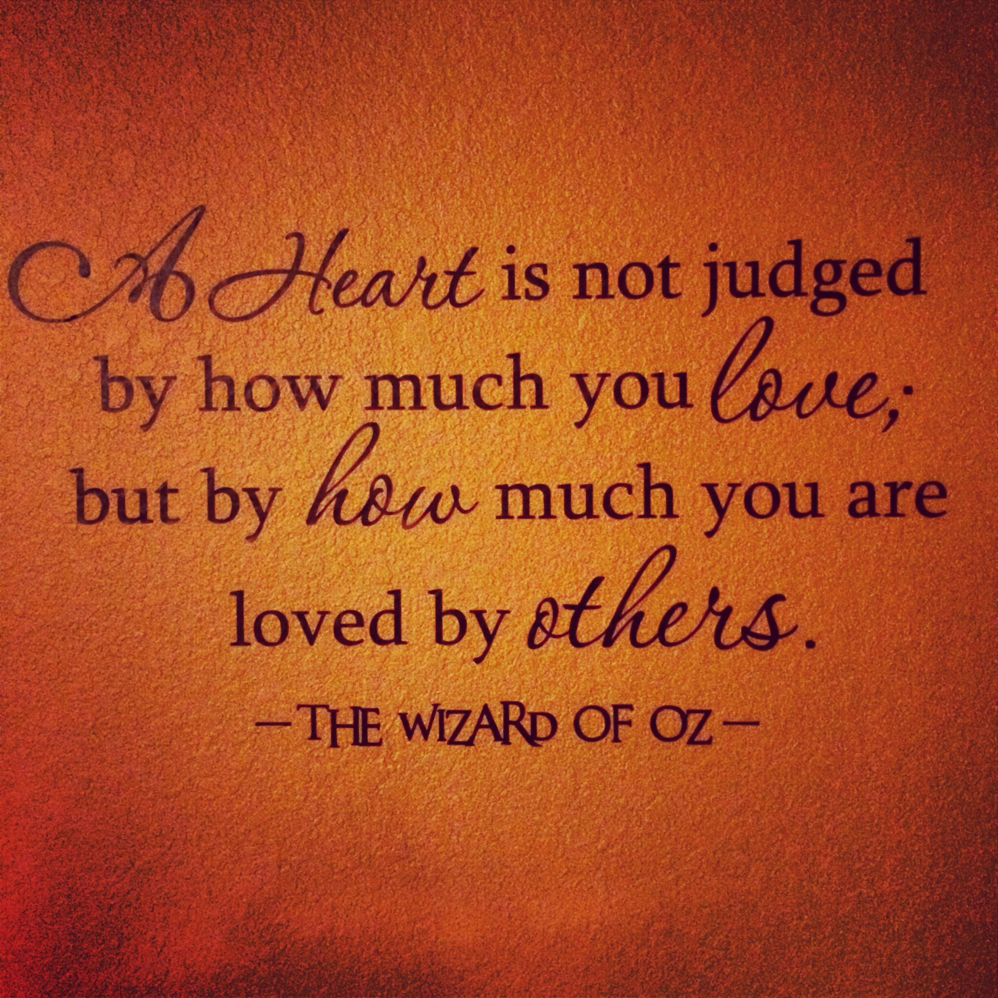 Wizard of oz quotes - Oaks Birthday Quote We Used