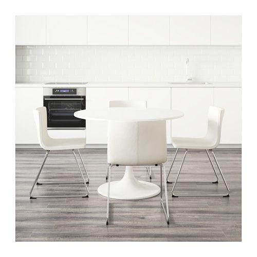 DOCKSTA BERNHARD Tafel en 4 stoelen IKEA | Stoelen