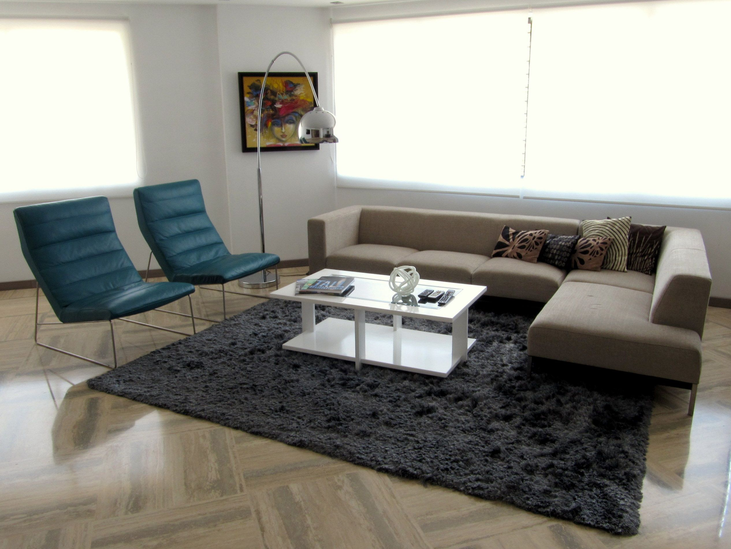 Contemporary living room terra sofa pristine living chair zientte houston for Modern living room furniture houston tx