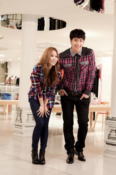 """Annyeong"" Gallery #missA #Fei #2PM #Chansung    credit https://www.facebook.com/buzzkorea"