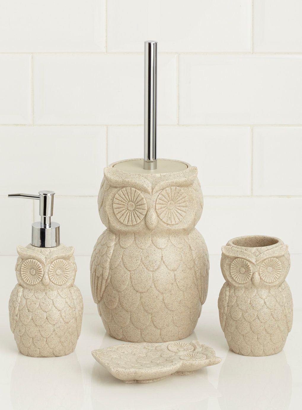 Owl Decor For Bathroom 2021 Owl Bathroom Decor Owl Bathroom Bathroom Decor Sets Owl bathroom decor set