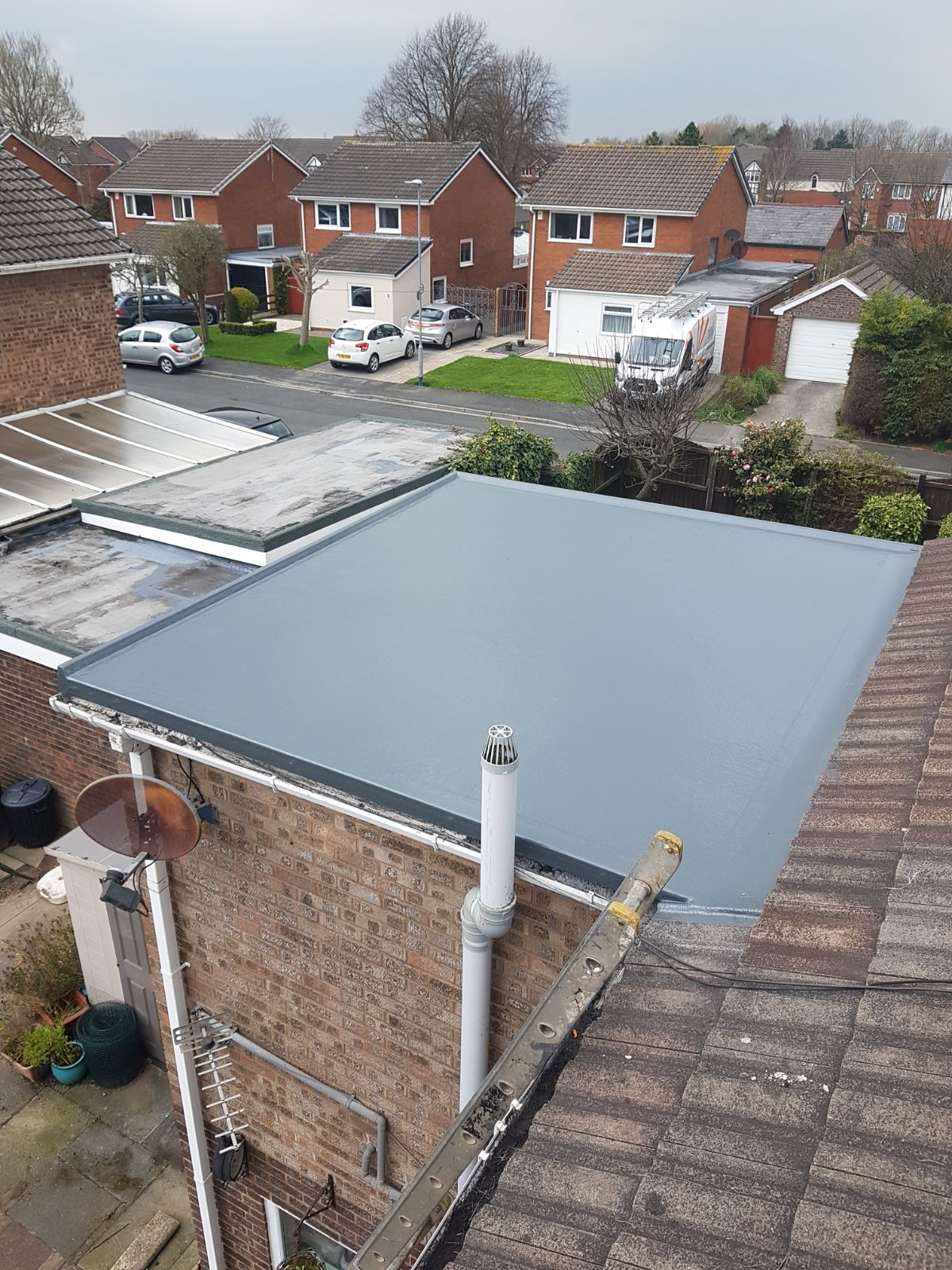 Fibreglass Roof Installation Fibreglass Roof Roofing Systems Flat Roof