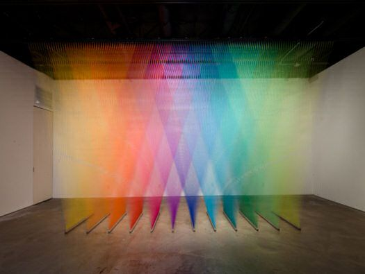Plexus No. 7, 8 & 9 by Gabriel Dawe