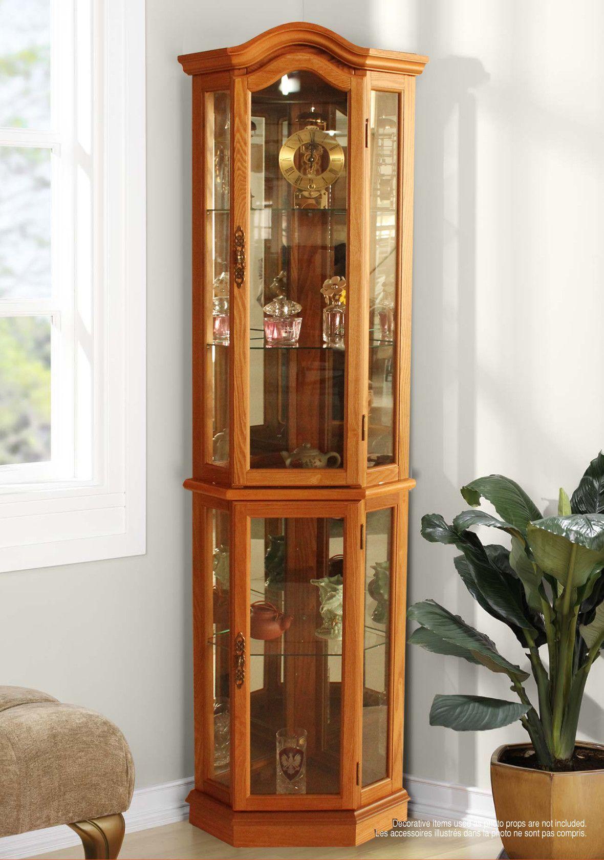Floor Standing Curio Cabinet Furniture