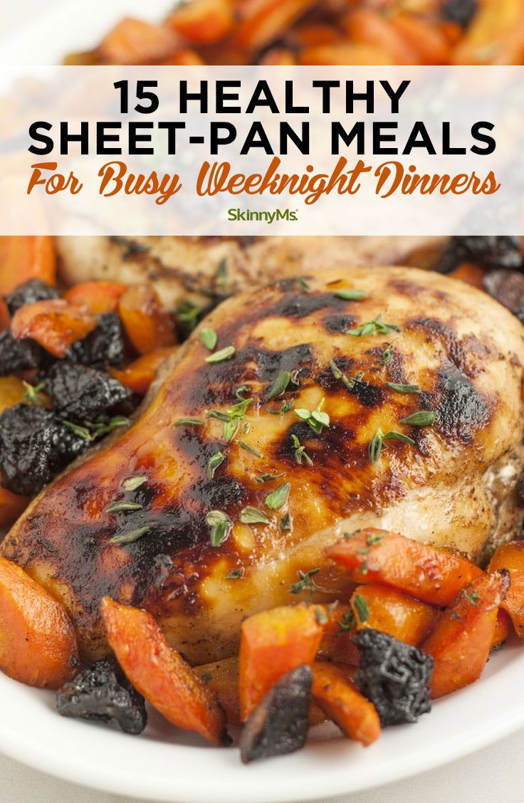 15 Healthy Sheet-Pan Meals for Busy Weeknight Dinners images