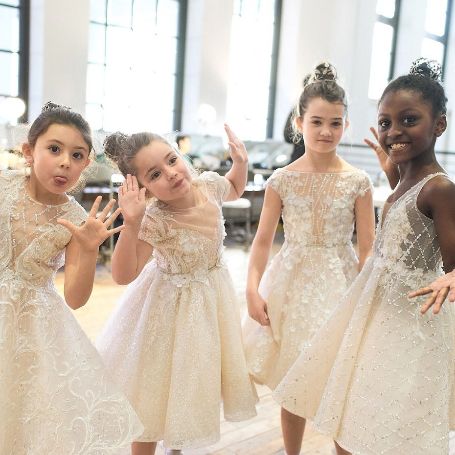 f3595eb7523 Berta Bridal Berta Baby Flower Girl Dress Collection Model Squad  flowergirl   flowergirls  bridesmaid  bride  girls  girlsquad  bertabridal  runway
