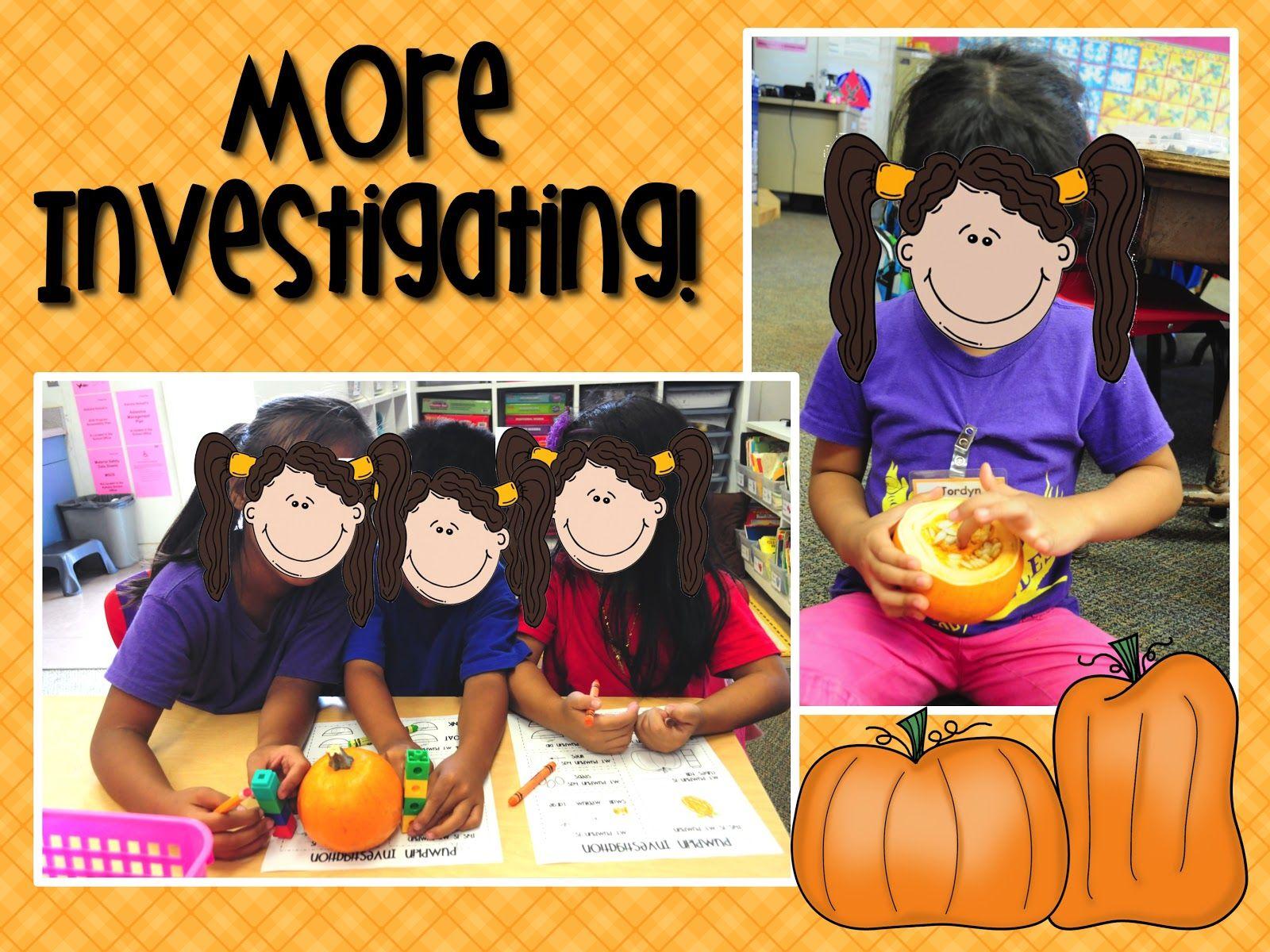 Mrs Ricca S Kindergarten Pumpkins Unit Freebie