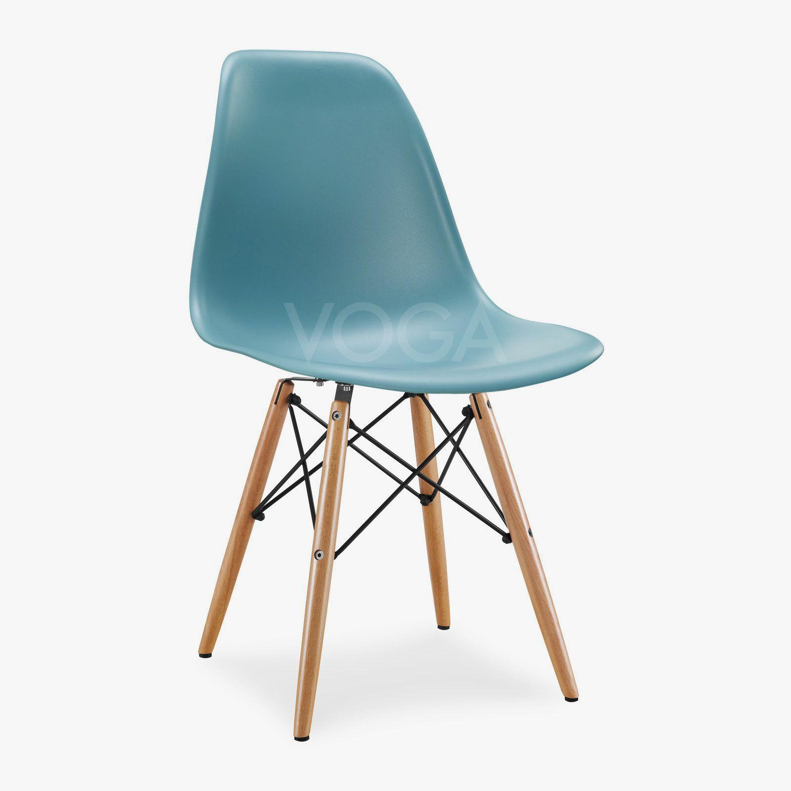Chaise dsw de charles eames en plastique decor furnishings - Chaise imitation charles eames ...