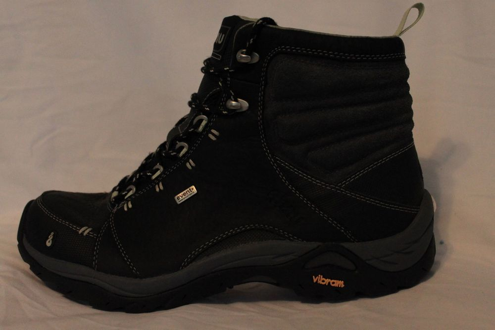 afc6b9e2f55 Ahnu Montara Womens Waterproof Black Hiking Boots Vibram eVent 9.5 ...