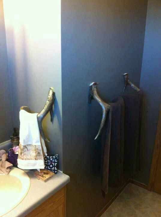 Antler Towel Rack