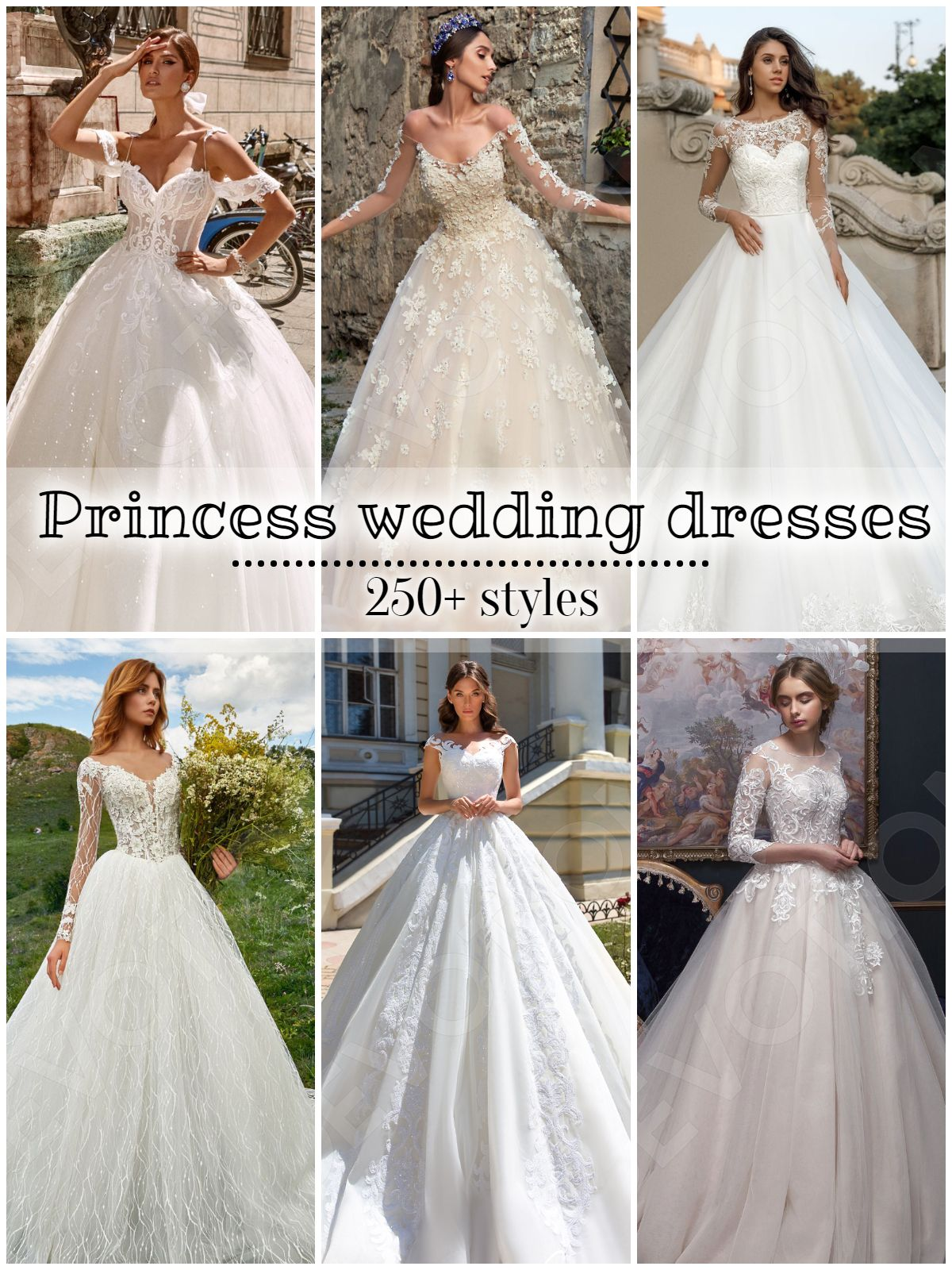 Over 250 Styles Of Princess Ball Gown Silhouette Wedding Dresses Princess Ball Gowns European Wedding Dresses Wedding Silhouette [ 1600 x 1200 Pixel ]