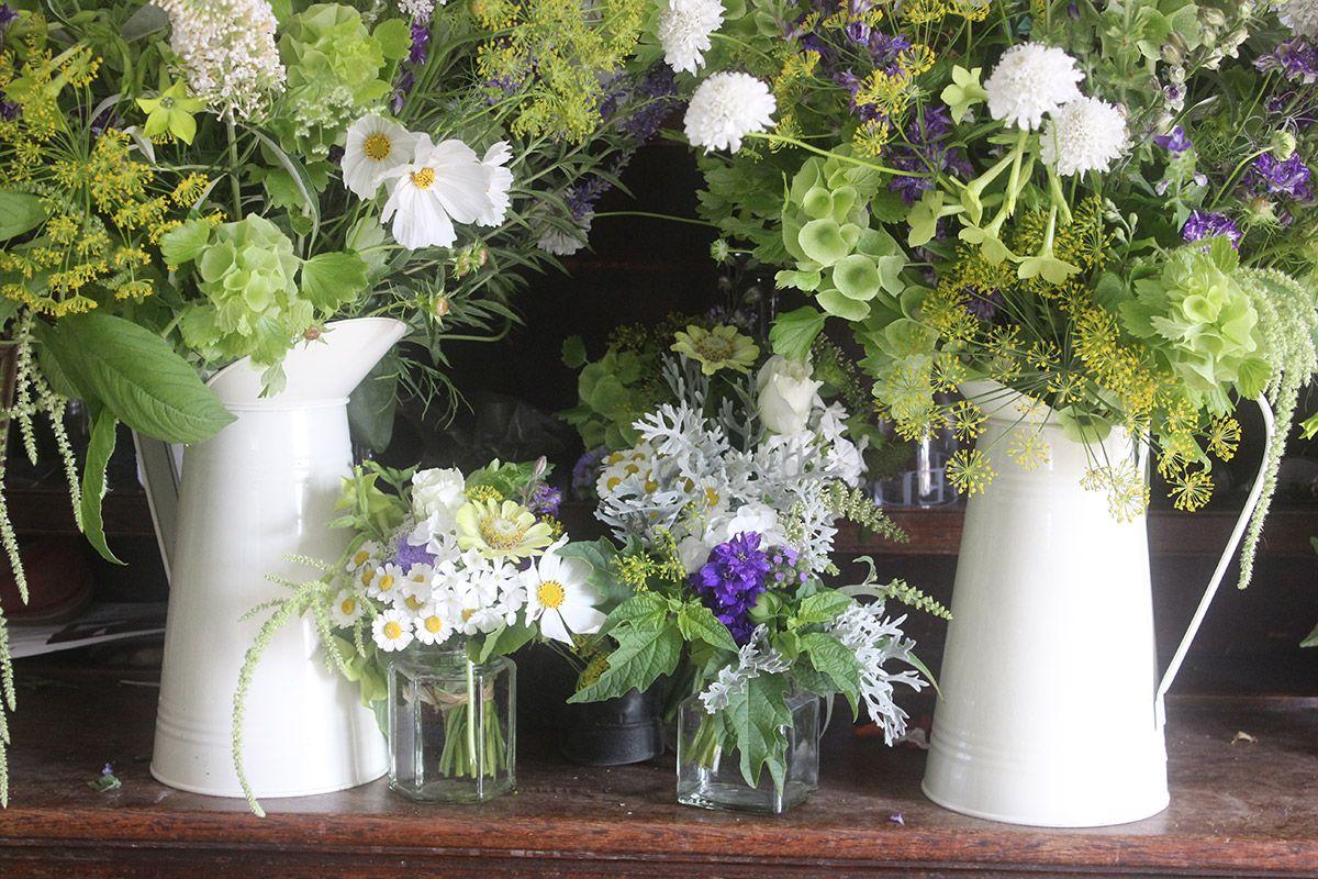 english country wedding flowers