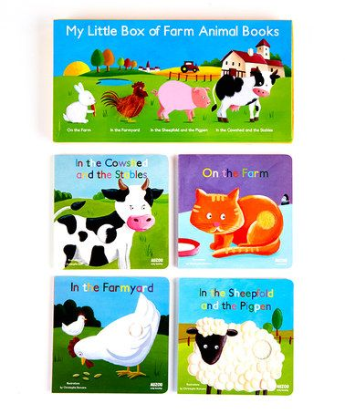 Another great find on #zulily! My Little Box of Farm Animal Board Book Set by Baker & Taylor Publishing #zulilyfinds