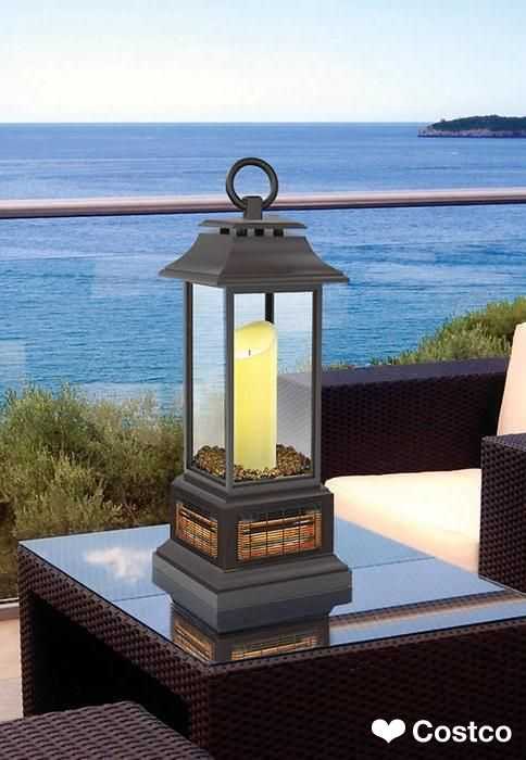 twin star table top lantern patio heater gifts for her