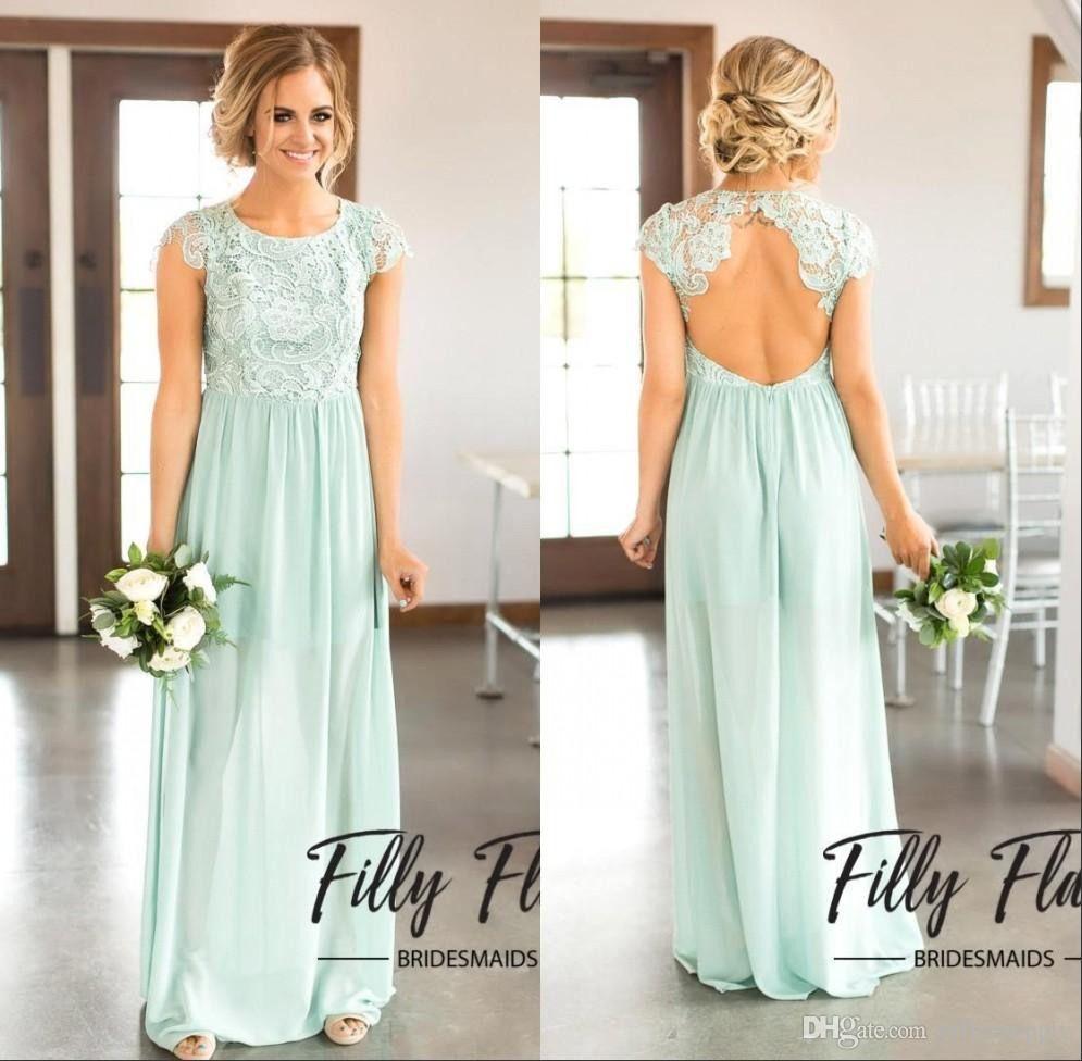 Hochzeitsgast Kleid Lang