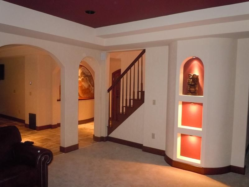 Best Basement Remodels improve the attention value with basement decorating ideas: best