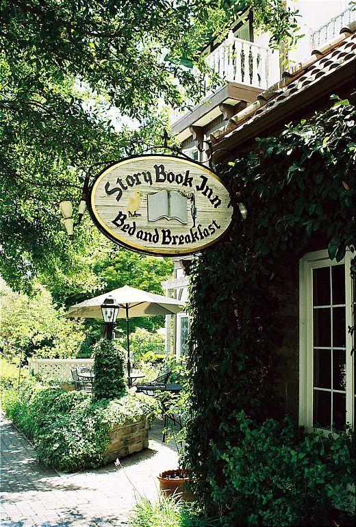 Story Book Inn Solvang California Copyright Terez Anon Bed