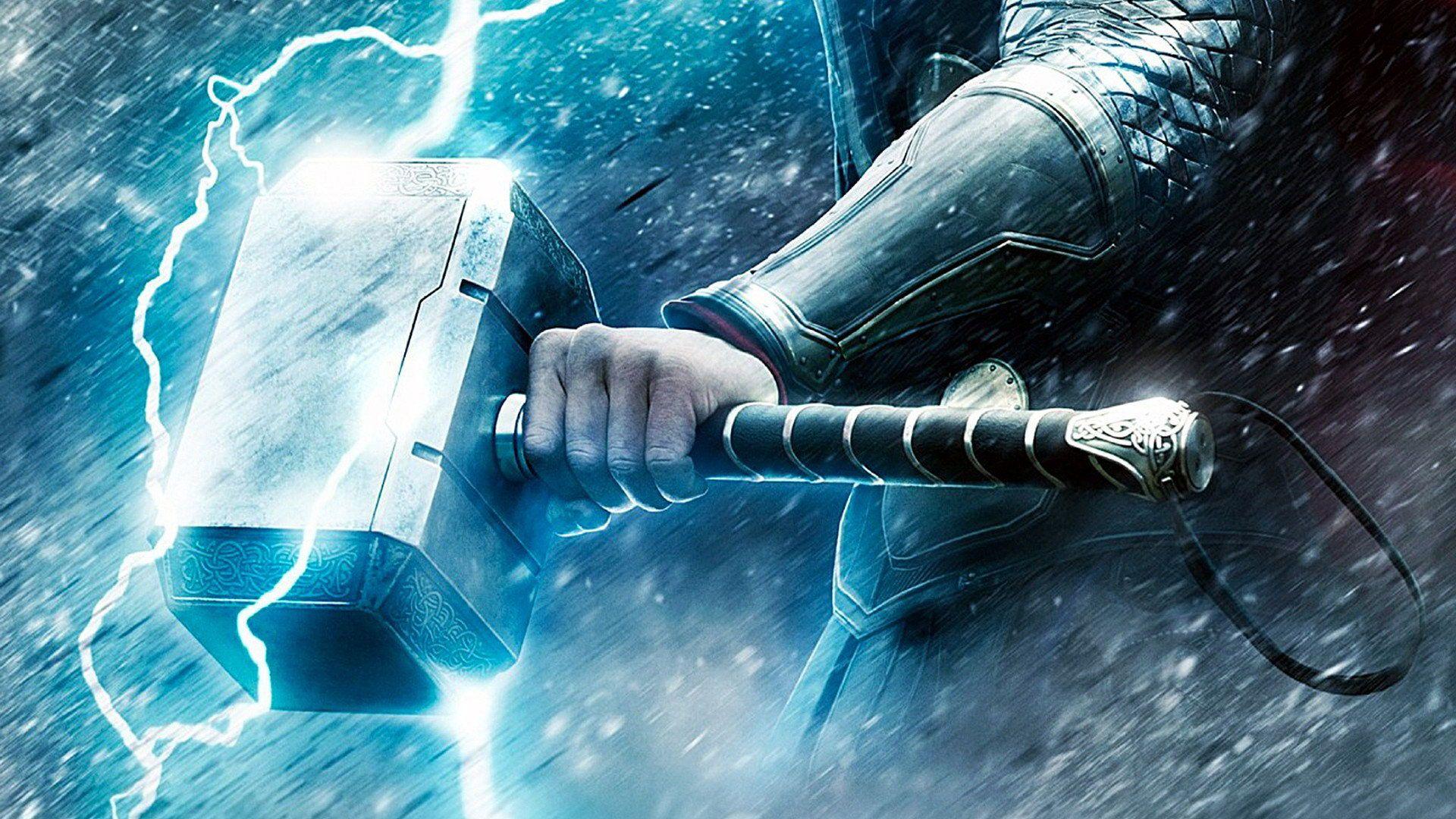 Mjolnir Thor God Of Thunder Mjolnir Thor Wallpaper Thor Dan
