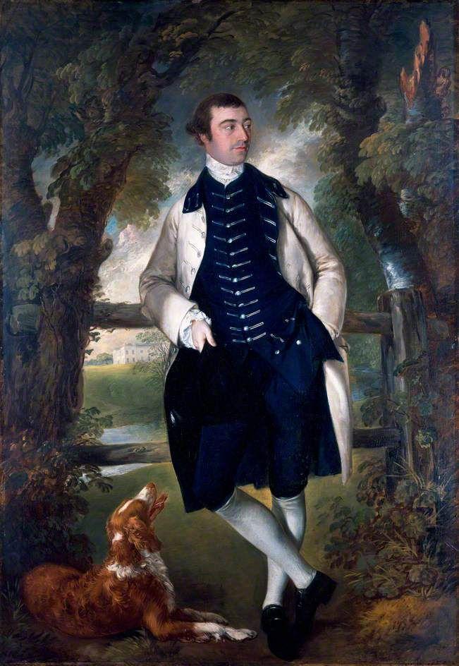 William Wollaston, MP, Thomas Gainsborough, c. 1759. The Holburne Museum