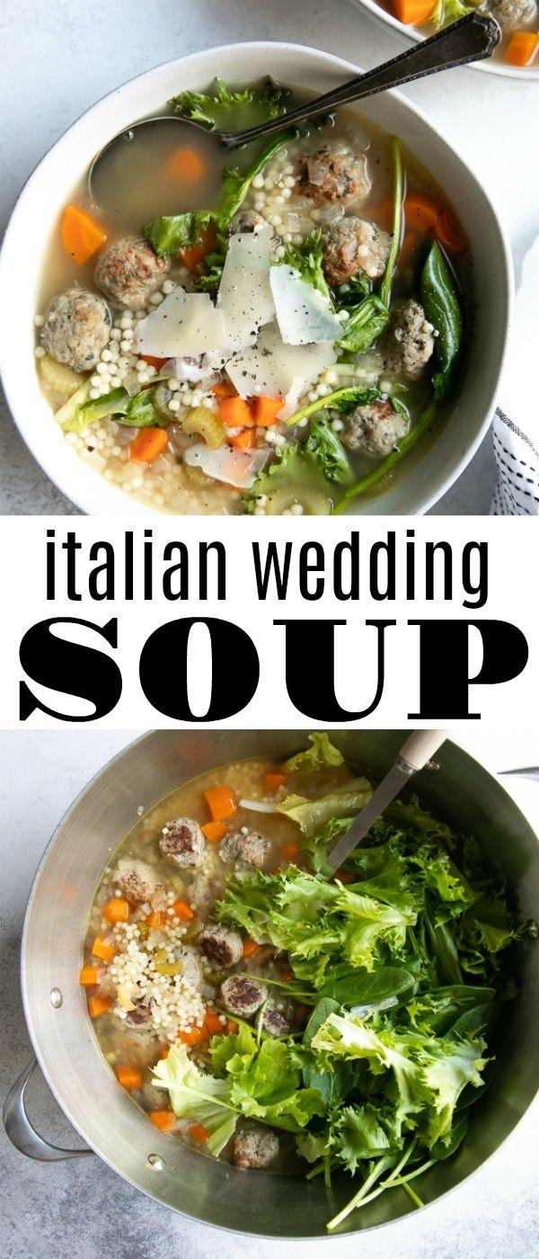 Italian Wedding Soup Recipe Wedding soup, Food, Food