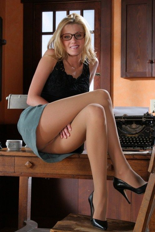 Sexy Secretary Mini Skirt