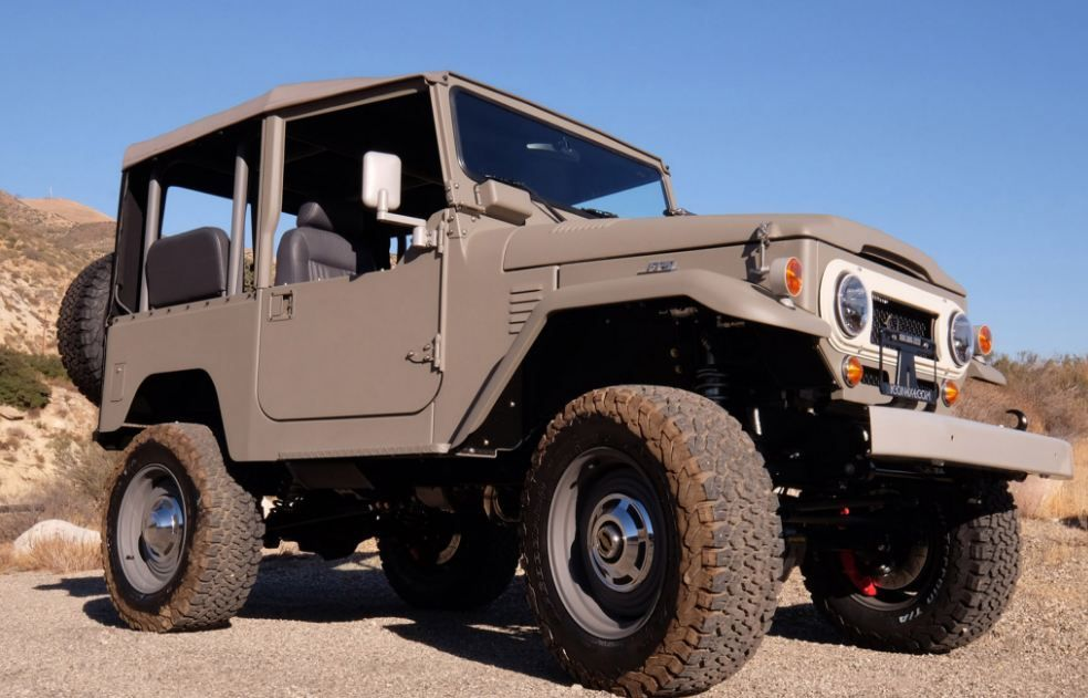 News Icon Rolls Out Old School Series for #Toyota FJ Fans. Restomod ...