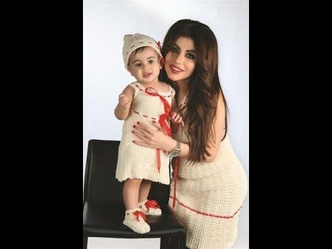 اجمل صور حليمه بولند مع ابنتها ماريا Arab Celebrities Celebrities Actors