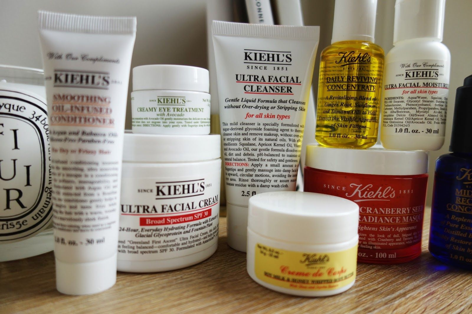 Five from Kiehls trouvaille.co.blog www.trouvailleco.co