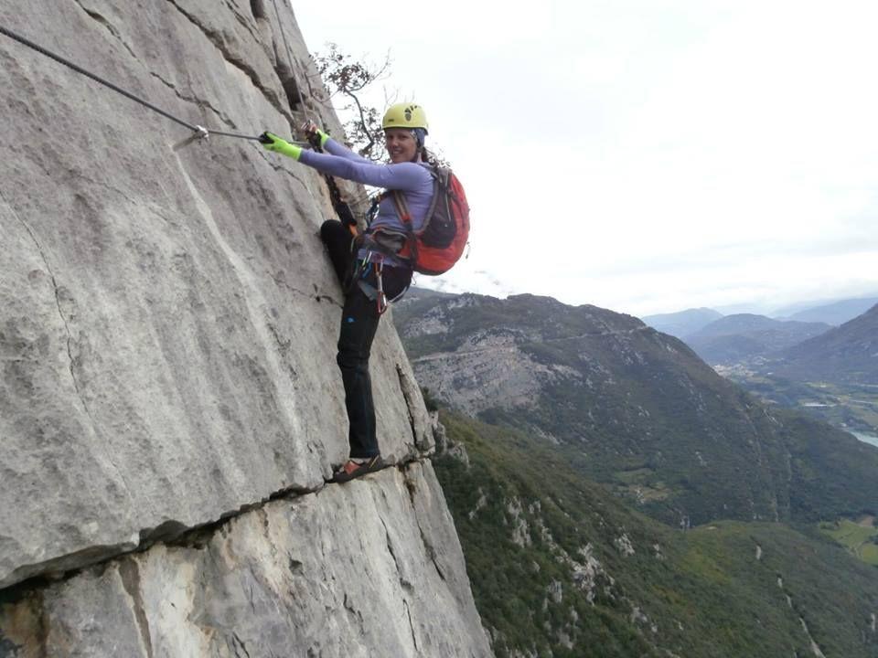 Via Kessi Klettersteig : Via ferrata rino pisetta klettersteig ferratta klettern